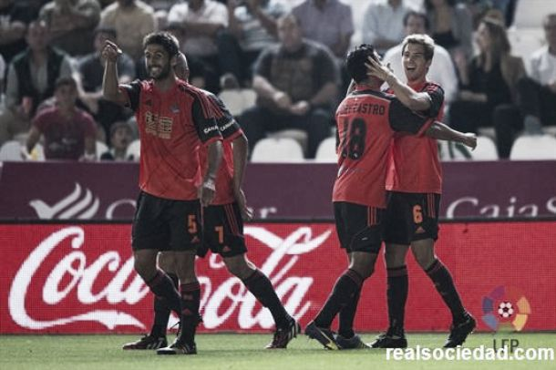 Córdoba - Real Sociedad: Puntuaciones Real Sociedad, jornada 9
