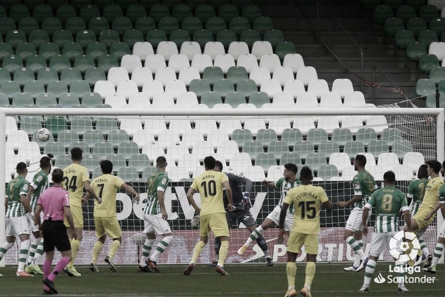 Real Betis - Villarreal : puntuaciones del Real Betis, 13ª jornada de LaLiga