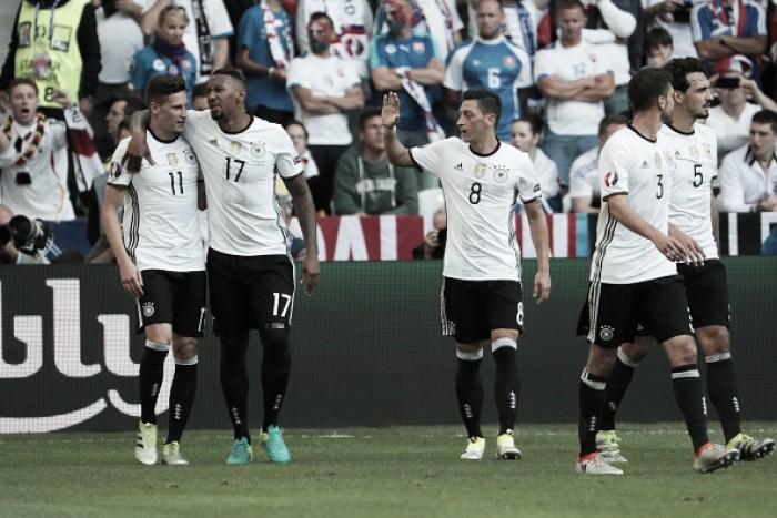 Alemanha controla, vence Eslováquia e garante vaga nas quartas de final da Eurocopa