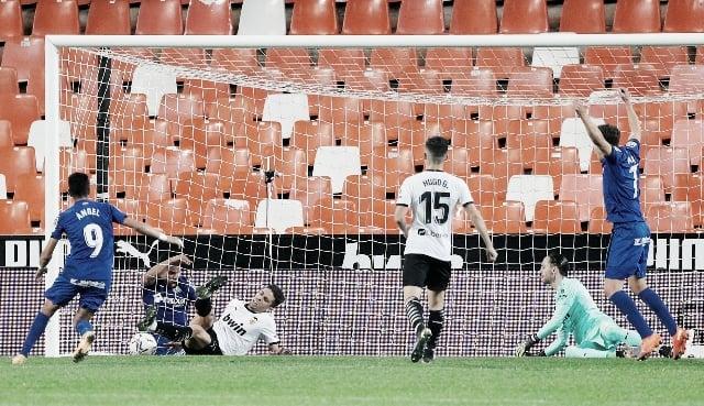 Récord sin precedentes en el Valencia vs. Getafe