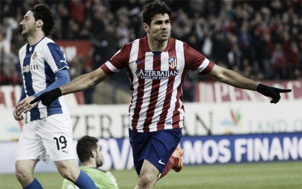 Diego Costa deja al Espanyol en la orilla del Manzanares