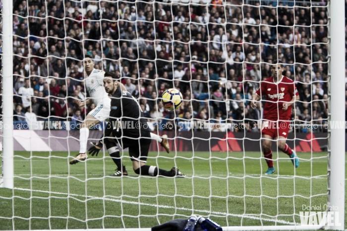 El Sevilla acaba con la mala racha del Real Madrid