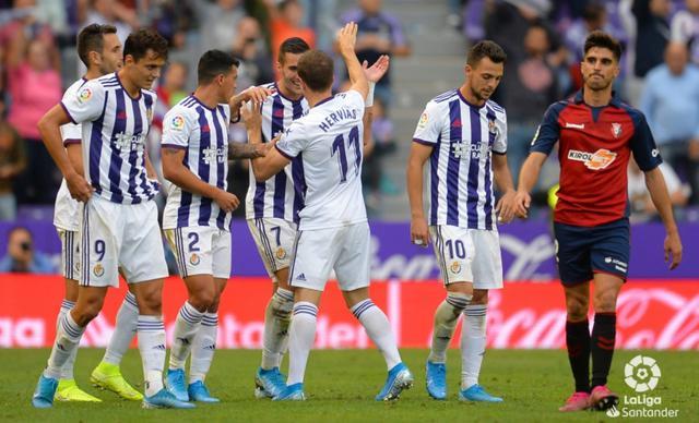 El Real Valladolid afronta un calendario complicado en el mes de diciembre