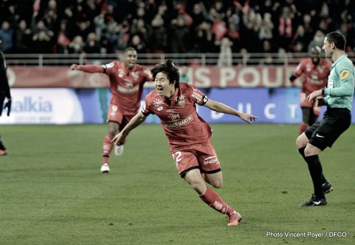 El Dijon se lleva los tres puntos con algo de polémica