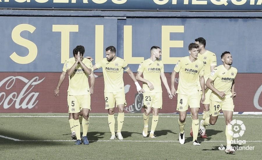 Parejo pide perdón a la afición valencianista tras su tanto./ Foto: LaLiga Santander