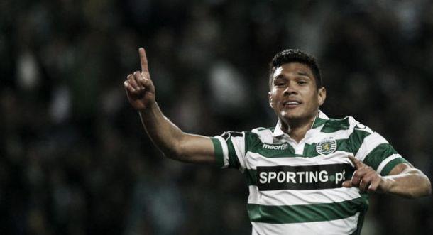 Teófilo Gutiérrez le dio la victoria al Sporting