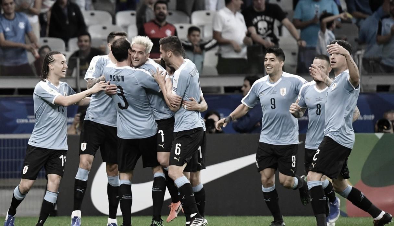 """Tabárez: """"Yo, de estos futbolistas, siempre espero lo mejor"""""""