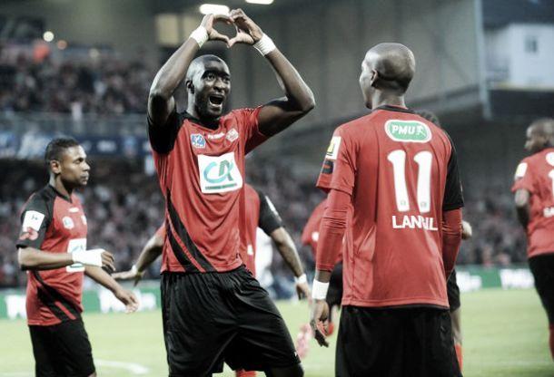 Guingamp vence Monaco na prorrogação e vai à final da Coupe de France