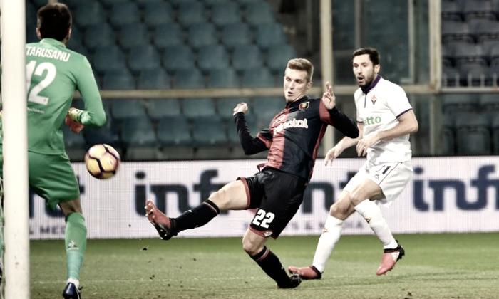 Serie A: il Genoa batte la Fiorentina nel recupero della terza giornata, Lazovic il marcatore