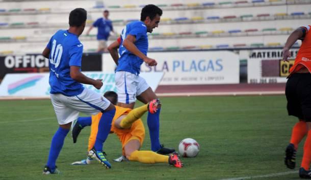 San Fernando CD 1 - 0 Atlético Malagueño: los azulinos dominan ante un buen filial