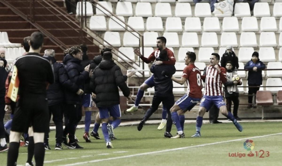 Un empate con sabor a poco: Sporting - Real Valladolid