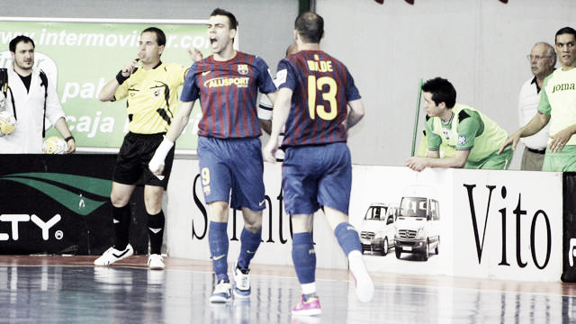Victoria épica del Barça Alusport ante Inter Movistar