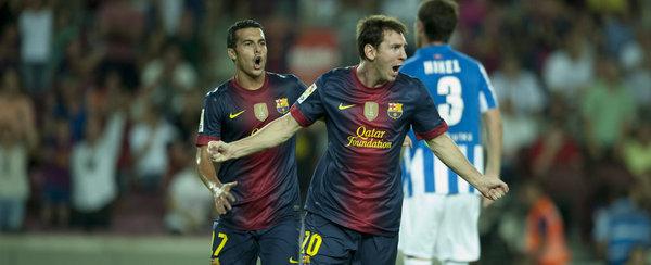 FC Barcelona - Real Sociedad: puntuaciones del Barcelona, Jornada 1