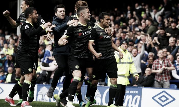 Premier League, il Chelsea vede il titolo: 0-3 all'Everton