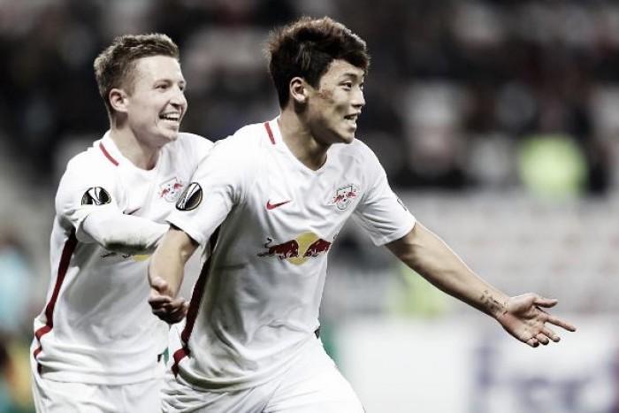 Fora de casa, Red Bull Salzburg bate Nice e equilibra grupo I da Europa League