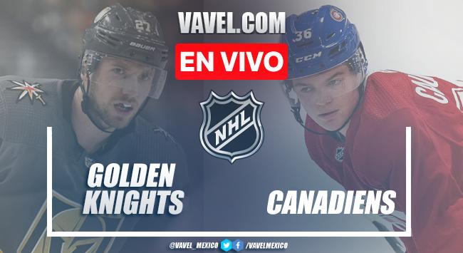 Resumen y mejores momentos del Vegas Golden Knights 2-3 Montreal Canadiensen Playoffs NHL