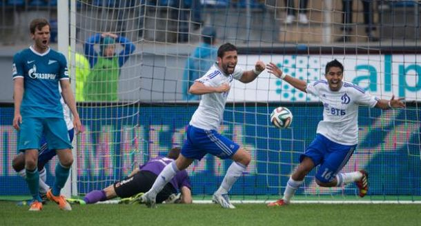 El Dinamo noquea al Zenit y los ultras se desmandan