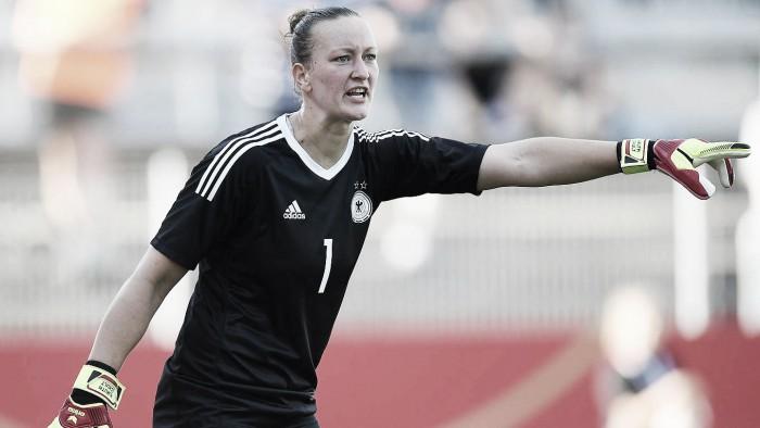 """Goleira Almuth Schult avalia Seleção Alemã em 2017: """"Somos capazes de bons desempenhos"""""""