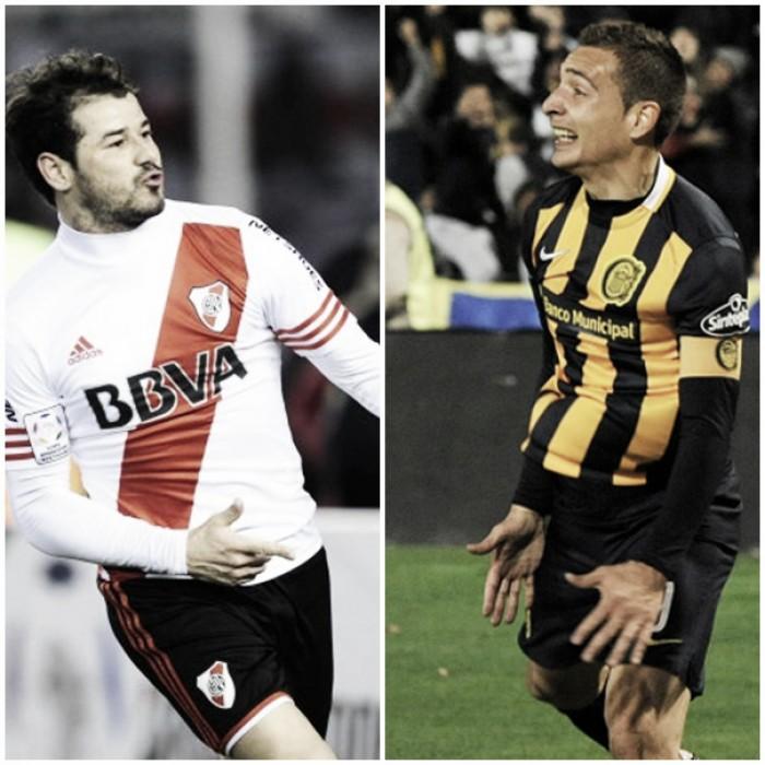 Cara a cara entre Rodrigo Mora y Marco Ruben