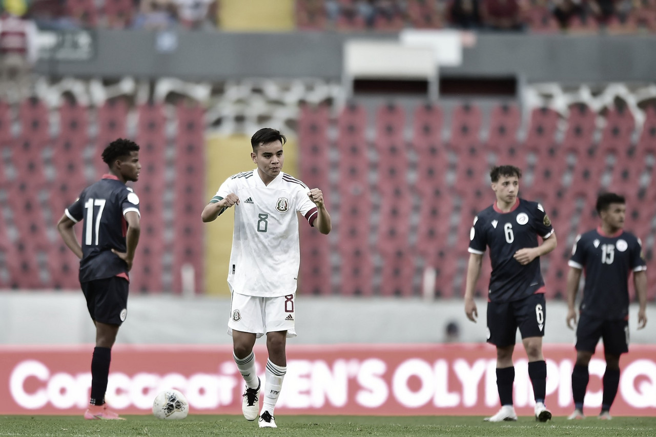 México vence tranquilamente a República Dominicana en debut de Torneo Preolímpico