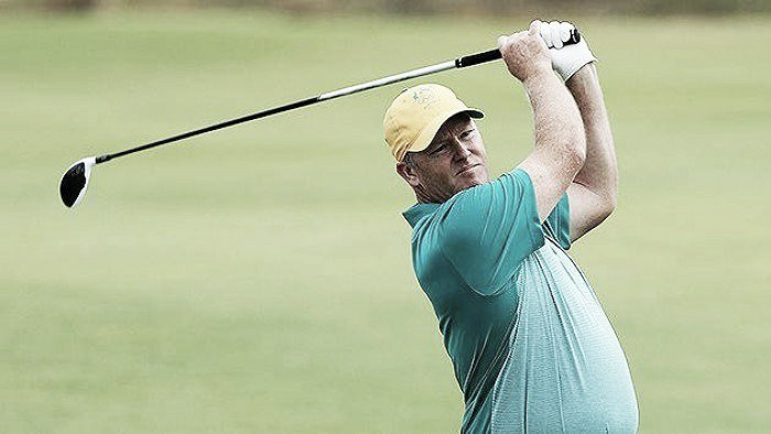 Rio 2016: Australian Marcus Fraser leads after the first round of the modern Olympics
