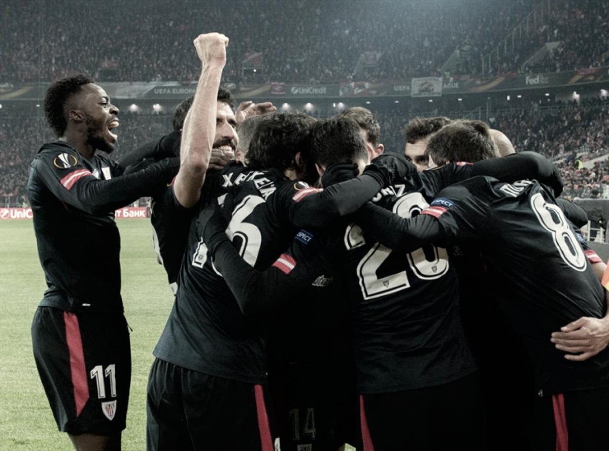 El Athletic busca alargar la racha goleadora en Europa League