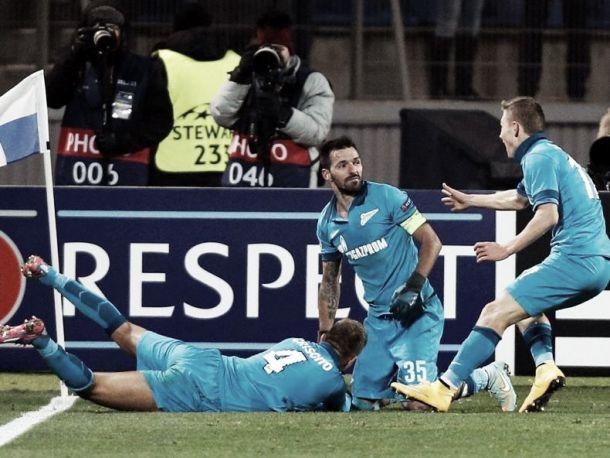 Zenit x Benfica : Dez minutos que gelaram o coração vermelho
