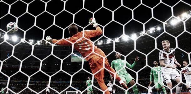 Suar, sofrer e ganhar: Alemanha elimina estóica Argélia