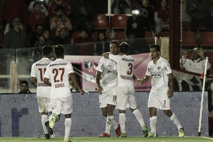"""Puntajes del """"Rojo"""" ante Patronato (2-1)"""