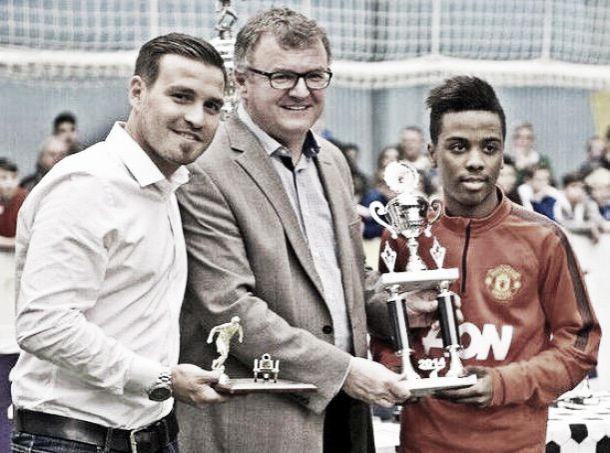 Nani singles out Portuguese youngster Angel Gomes as hot prospect for Red Devils