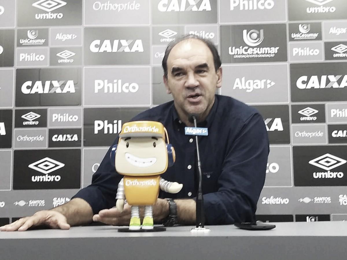 Ricardo Gomes admite que Cuca não estava entre primeiras opções para comandar o Santos
