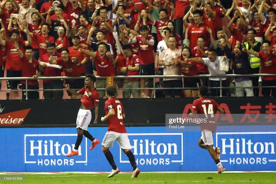 Man United 2-1 Tottenham: Angel Gomes' winner continues Reds' good pre-season form