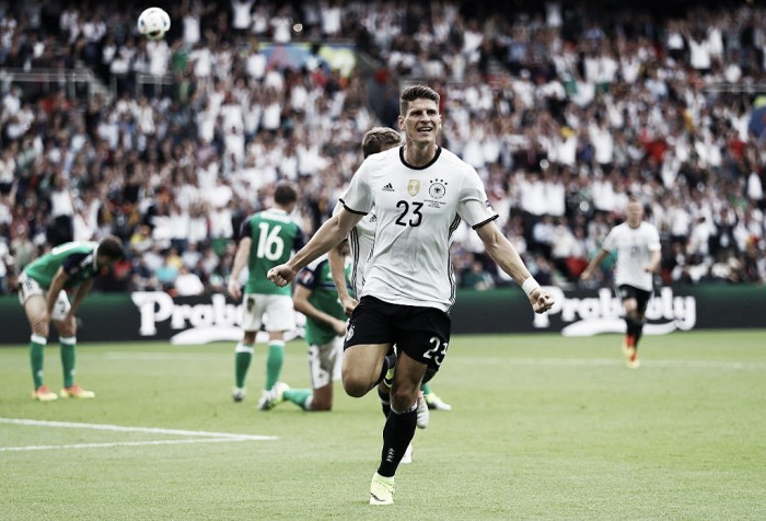 Northern Ireland 0-1 Germany: Gomez nets winner against spirted Northern Ireland