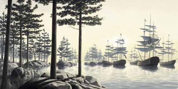 Los mundos imaginarios de Rob Gonsalves