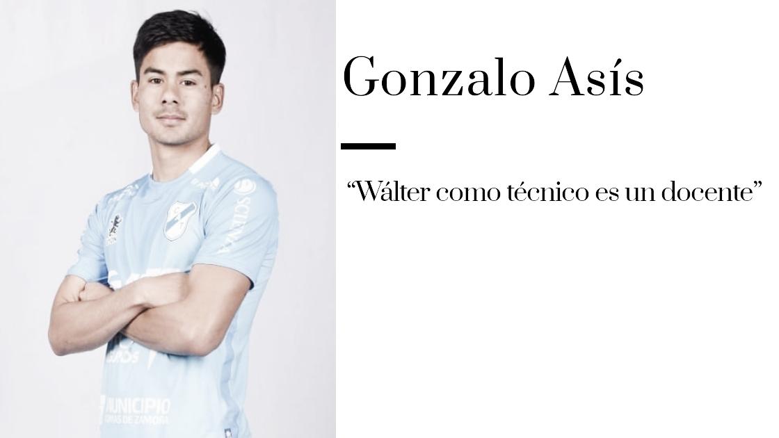 """Entrevista.GonzaAsis: """"Somos candidatos al ascenso"""""""