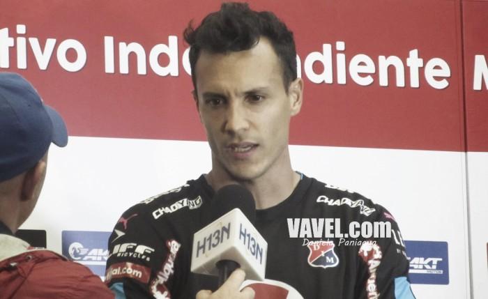 """David González: """"Cuando acabó del partido del domingo, a pesar de perder, sabíamos que debíamos mantener la compostura"""""""