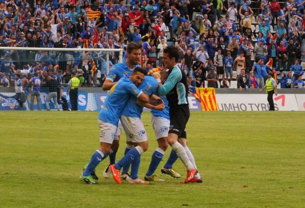 La casta del Lleida y el Camp d'Esports frenan al Toledo