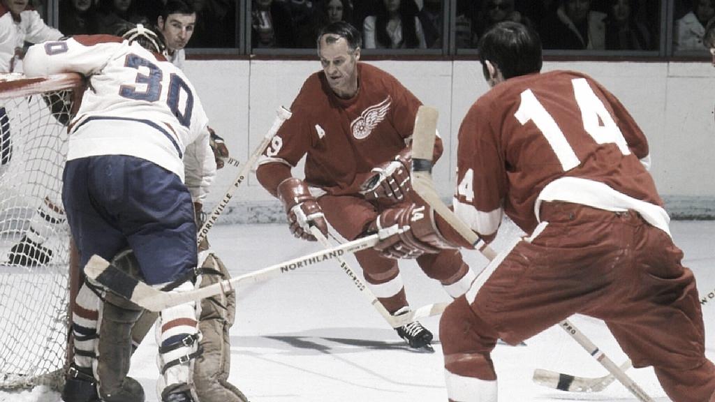 """Jugadores Legendarios de la NHL: """"Gordie"""" Howe"""