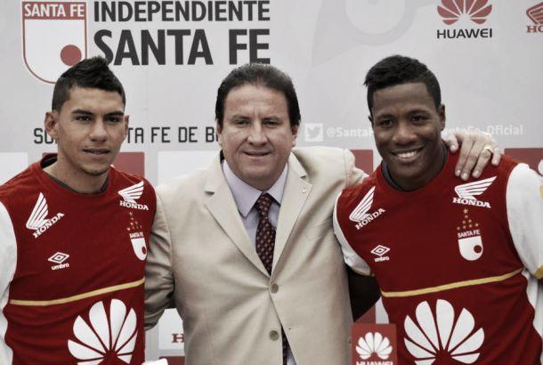 """Gordillo y Angulo: """"Santa Fe es un equipo con ADN ganador"""""""