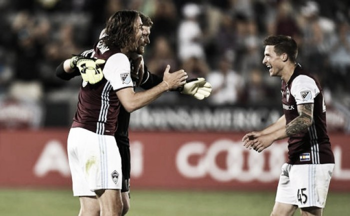 Colorado Rapids pick up three points against Columbus Crew SC
