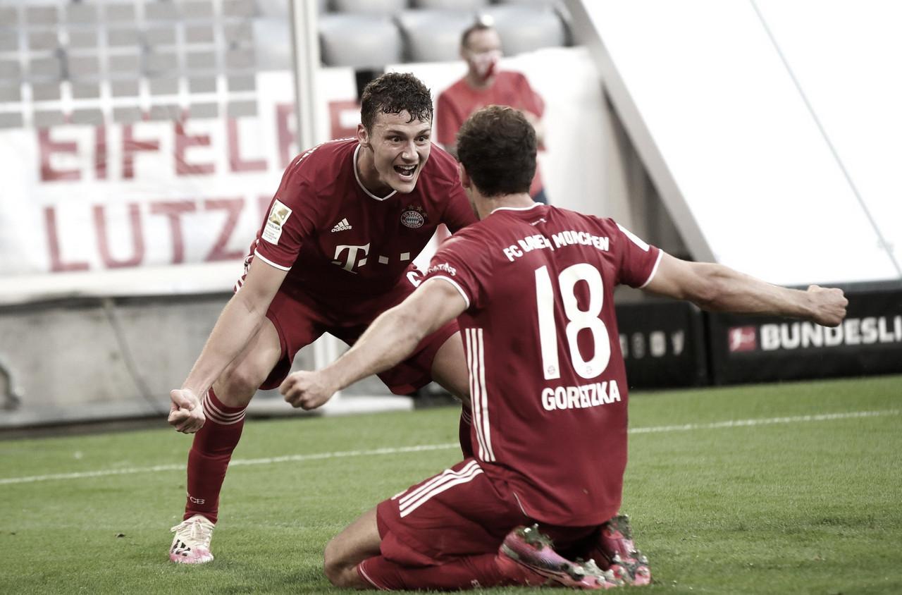 Bayern sofre, venceMönchengladbach efica a três pontos do octa
