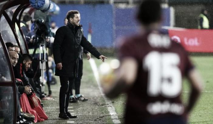"""Simeone : """"Ni cuando gano ni cuando pierdo hablo de justicia"""""""