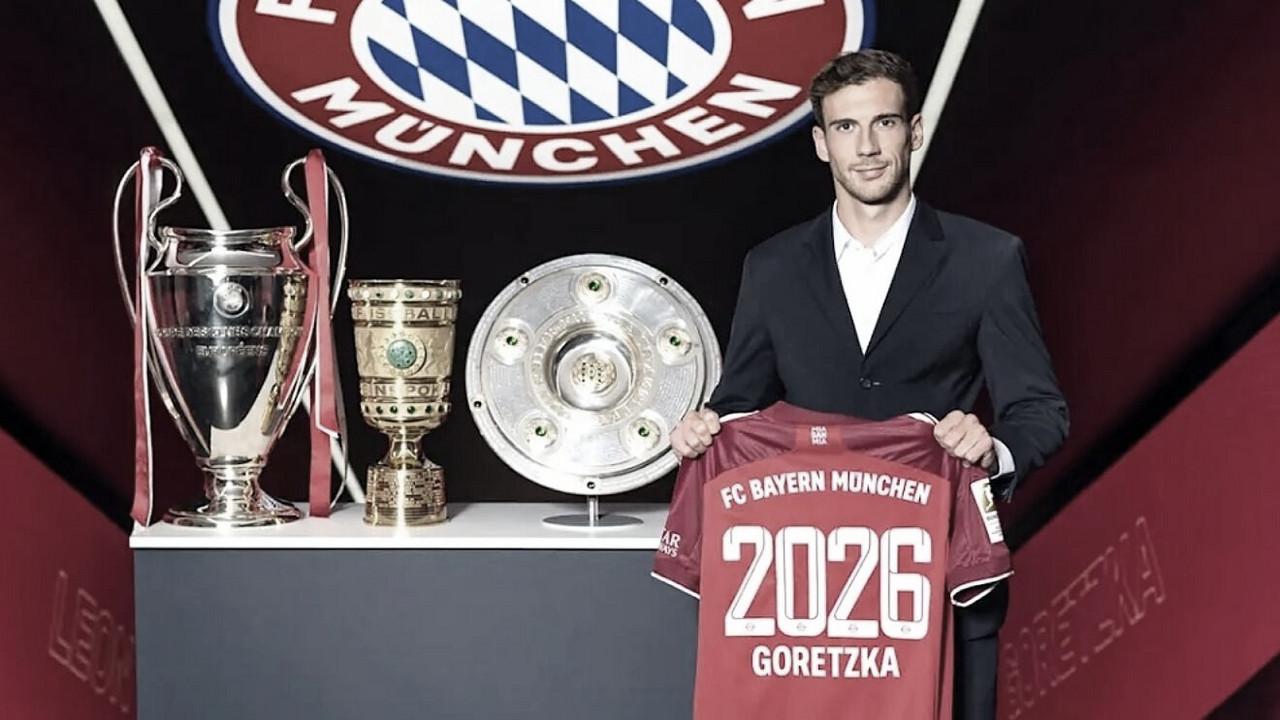 Extensión de contrato para Goretzka hasta 2026