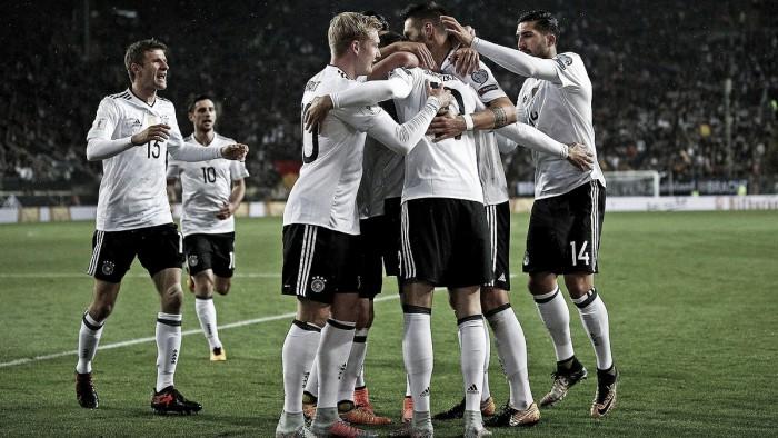 Un equipo B de Alemania se divierte con Azerbaiyán