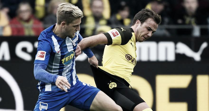 """Götze admite gosto amargo após empate do BVB: """"Hoje não fomos tão eficientes"""""""