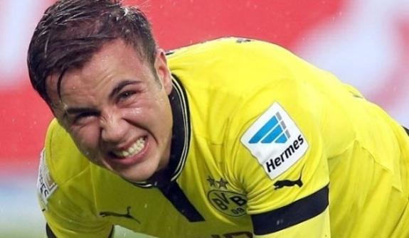 Lesionado, Mario Götze está fora da final da Uefa Champions League