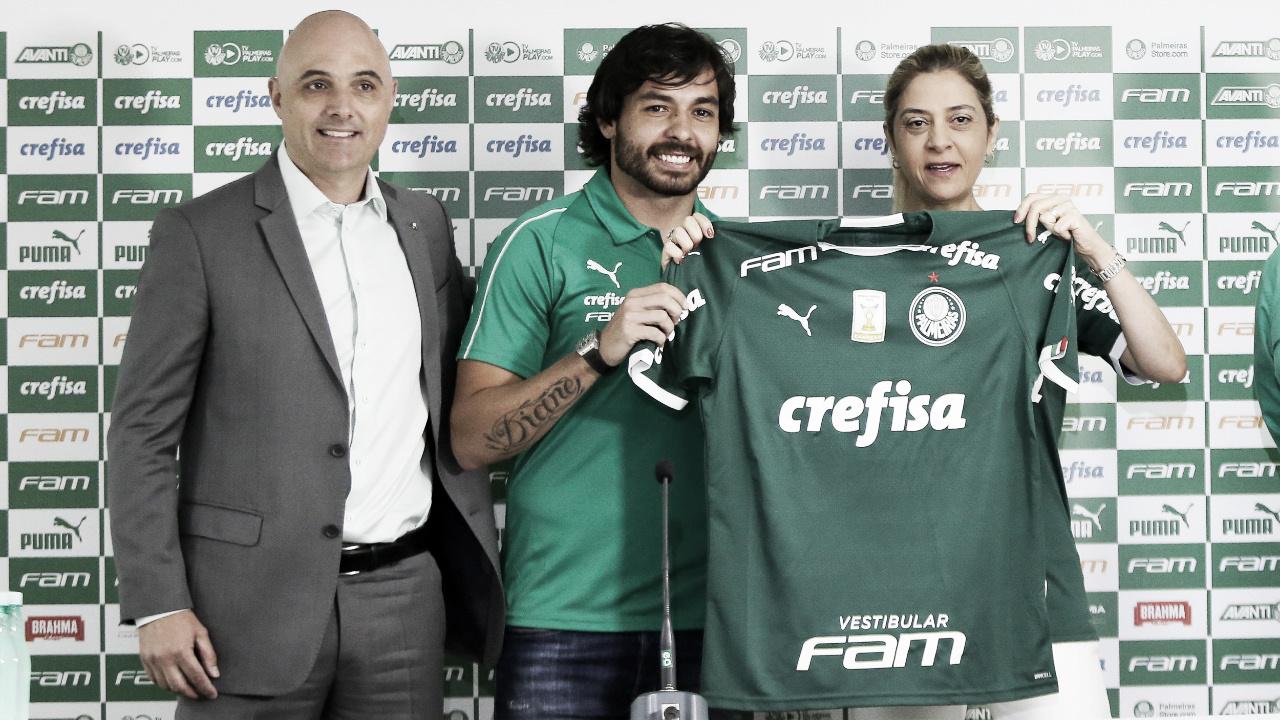 Apresentado pelo Palmeiras, Ricardo Goulart anseia volta aos gramados