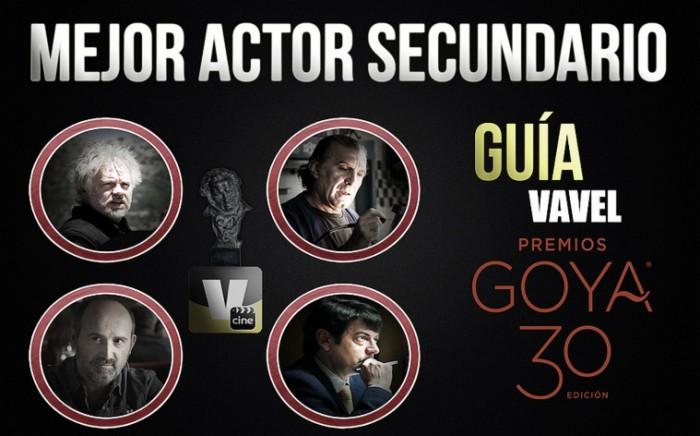 Camino a los Goya 2015: mejor actor de secundario