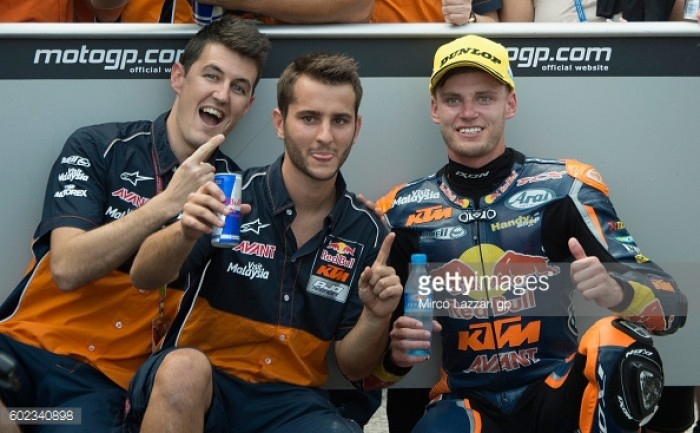 Changes in the Red Bull KTM Ajo camp in 2017