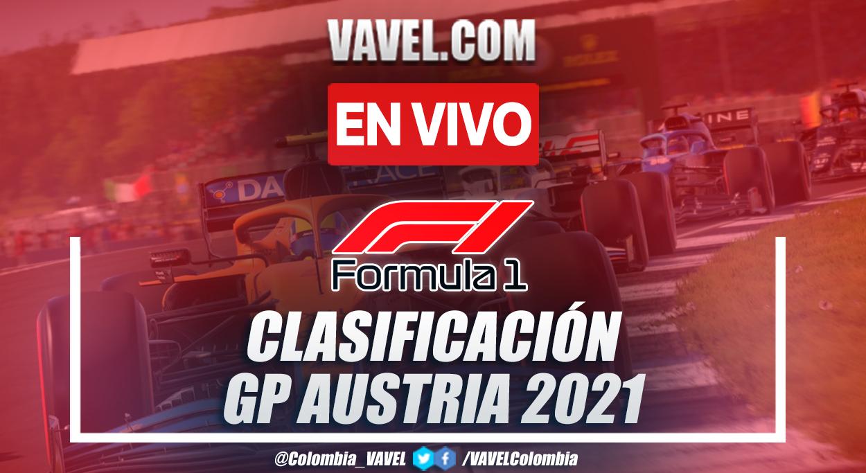 Resumen: Clasificación GP Austria Fórmula 1 2021